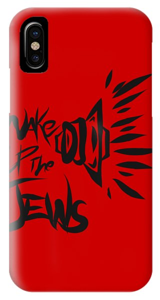 Jews Wake Up IPhone Case