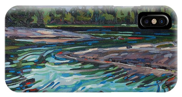 Jim Afternoon Rapids IPhone Case