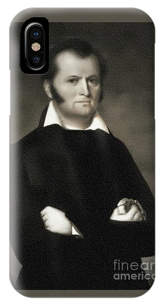 Jim Bowie - The Alamo IPhone Case