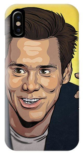 The iPhone Case - Jim Carrey by Miggs The Artist