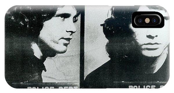 Jim Morrison Mug Shot Horizontal IPhone Case