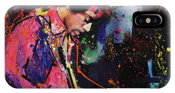 Jimi Hendrix II IPhone Case