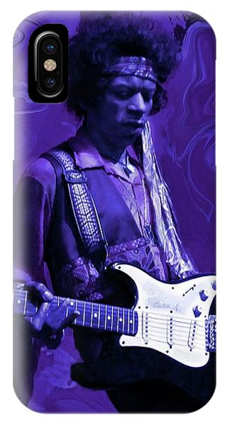 Jimi Hendrix Purple Haze IPhone Case