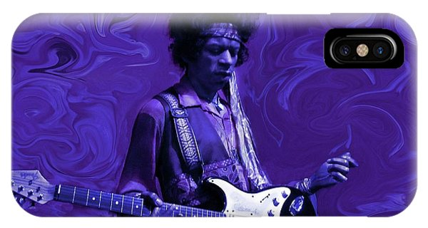 Jimi Hendrix Purple Haze IPhone Case