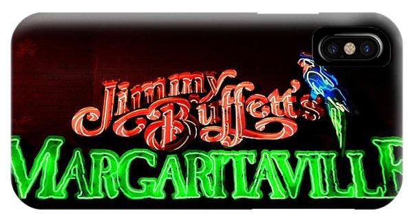 Jimmy Buffett's Margaritaville IPhone Case