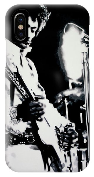Jimmy Hendrix Purple Haze IPhone Case