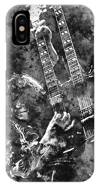 Jimmy Page - 02 IPhone Case