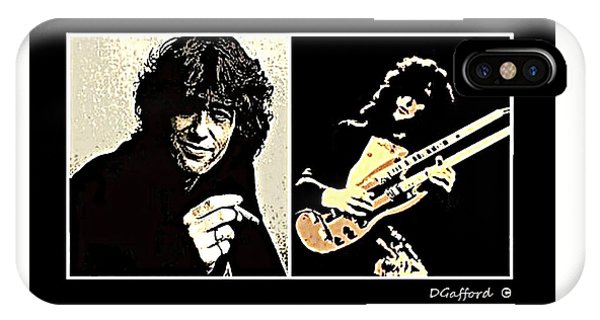 Jimmy Page Phone Case by Dave Gafford