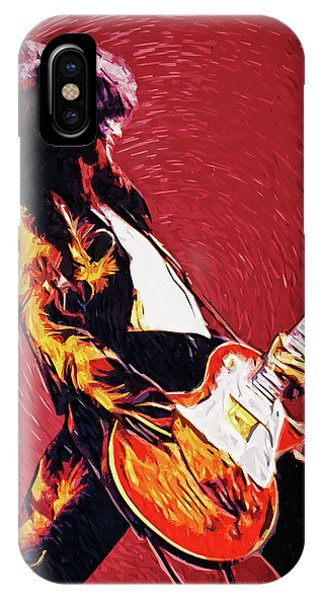 Physical iPhone Case - Jimmy Page  by Zapista Zapista