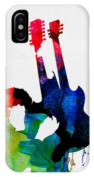 Jimmy Watercolor IPhone Case