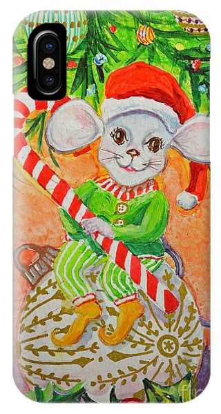 Jingle Mouse IPhone Case