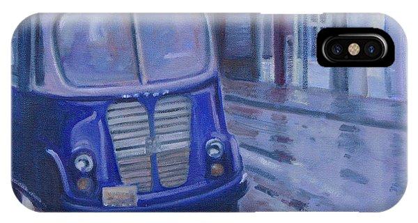Jitney Ride In The Rain IPhone Case