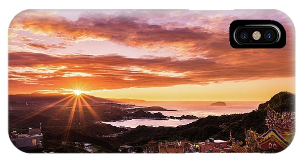 Jiufen Sunset IPhone Case
