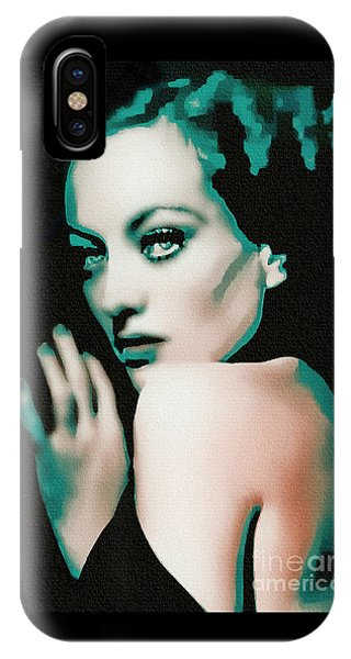 Joan Crawford - Pop Art IPhone Case