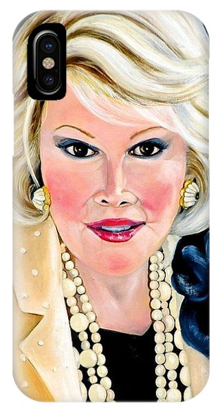 Joan Rivers IPhone Case