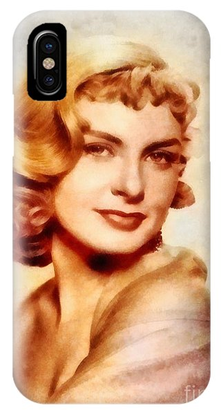 Joanne Woodward, Vintage Hollywood Actress IPhone Case