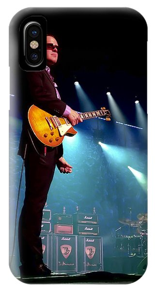 Drum iPhone Case - Joe Bonamassa 2 by Peter Chilelli