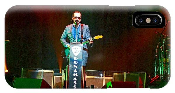 Joe Bonamassa - Live Performance In Eugene Oregon  IPhone Case