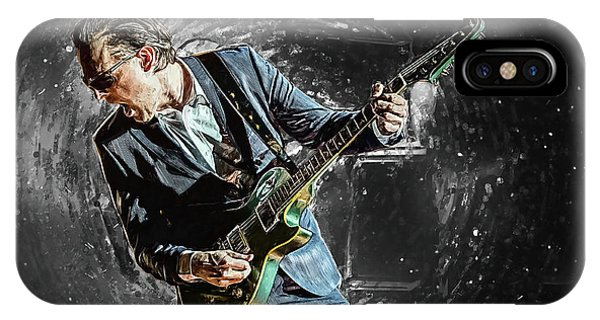 Eric Clapton iPhone Case - Joe Bonamassa by Zapista Zapista