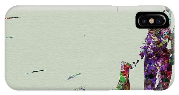 Saxophone iPhone Case - Joe Henderson Watercolor 2 by Naxart Studio