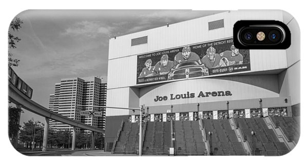 Joe Louis Arena Black And White  IPhone Case