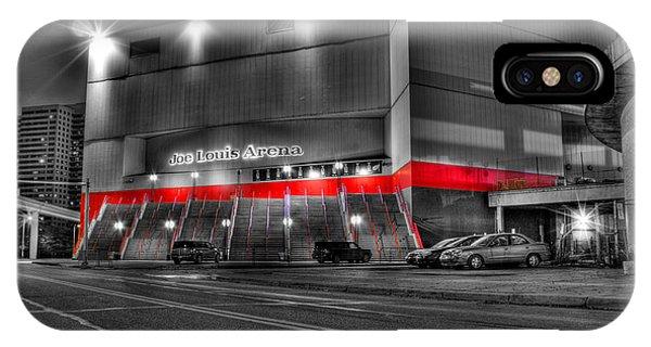 Joe Louis Arena Detroit Mi IPhone Case