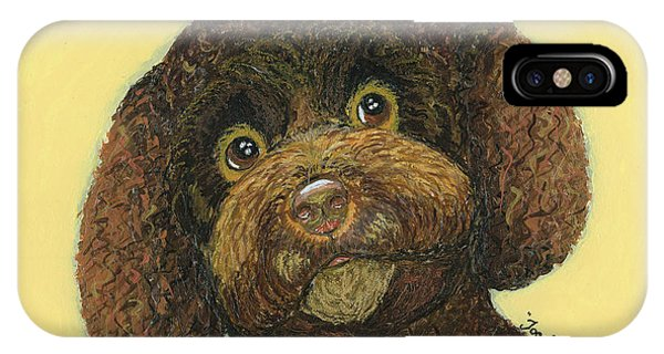 Joey Poodle Mix IPhone Case