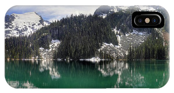 Joffre Lake Middle Panorama B.c Canada Phone Case by Pierre Leclerc Photography