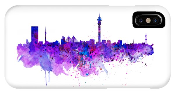 Johannesburg Skyline IPhone Case