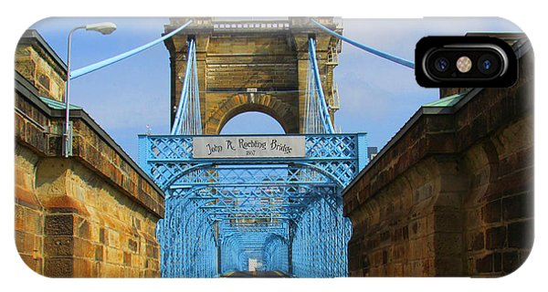 John A. Roebling Suspension Bridge IPhone Case
