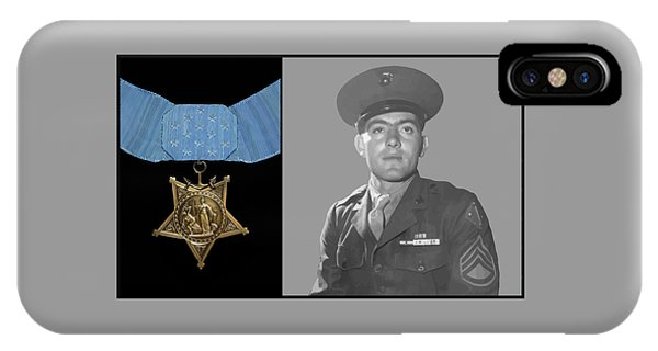John Basilone And The Medal Of Honor IPhone Case