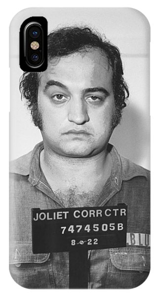 John Belushi Mug Shot For Film Vertical IPhone Case