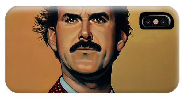 James iPhone Case - John Cleese by Paul Meijering