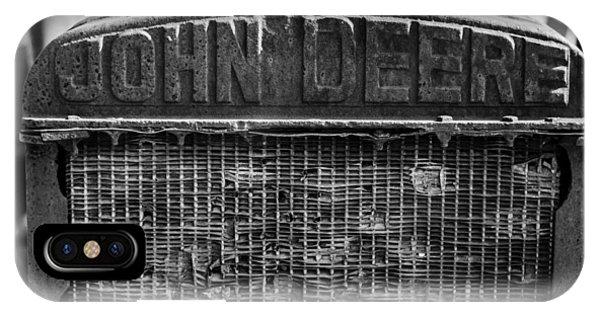 John Deere In Monochrome IPhone Case