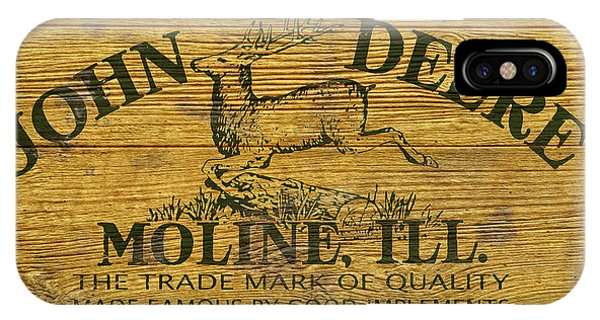 John Deere Sign IPhone Case