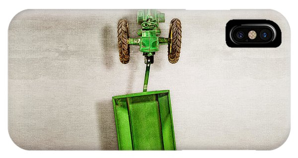 Atomic iPhone Case - John Deer Wagon Top by YoPedro