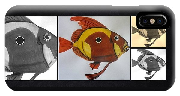 John Dory Collage IPhone Case