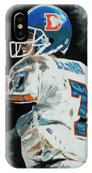 John Elway 1 IPhone Case