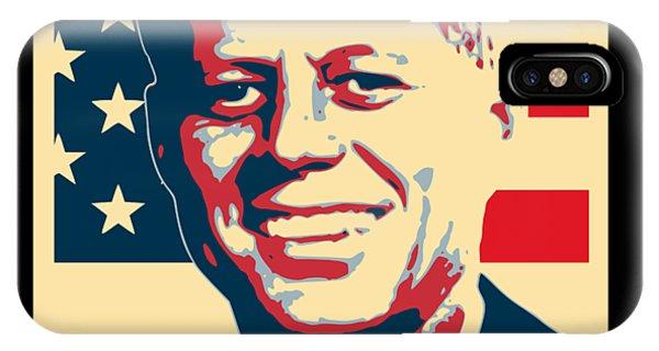 Equal Rights iPhone Case - John F Kennedy American Propaganda Poster Art by Filip Hellman
