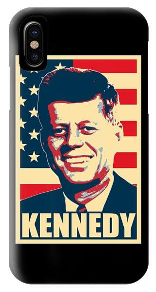 Equal iPhone Case - John F Kennedy American Propaganda Poster Art by Filip Hellman