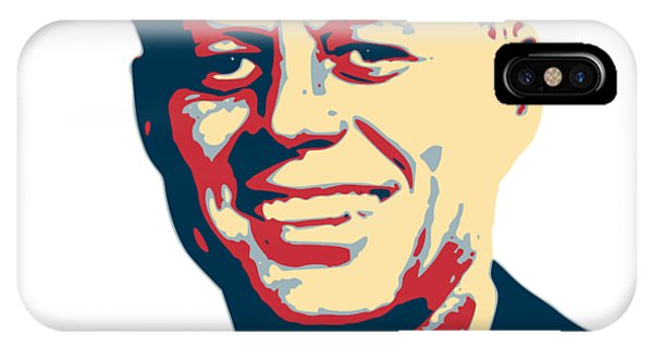 Equal Rights iPhone Case - John F Kennedy Color Pop Art by Filip Hellman