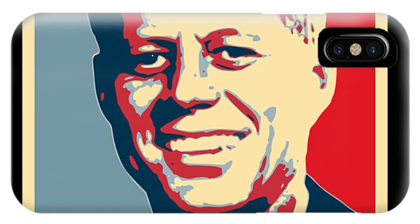 Equal Rights iPhone Case - John F Kennedy Hope Poster Art by Filip Hellman