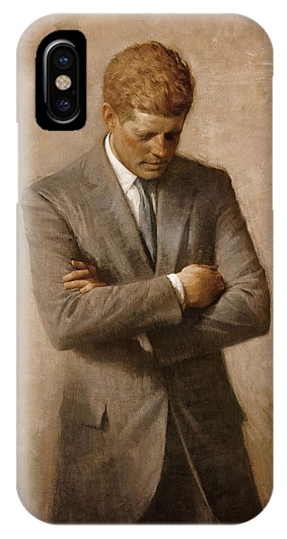 History iPhone Case - John F Kennedy by War Is Hell Store