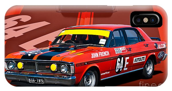 John French Xy Falcon 351 Gtho IPhone Case