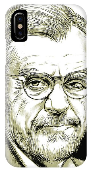 Film iPhone Case - John Guilbert Avildsen by Greg Joens