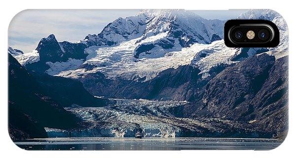 John Hopkins Glacier 3 IPhone Case