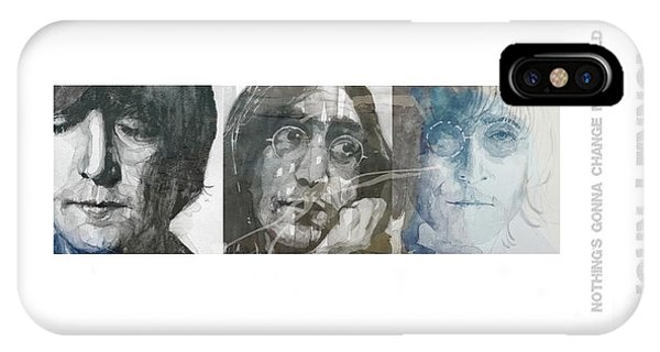 John Lennon Triptych IPhone Case