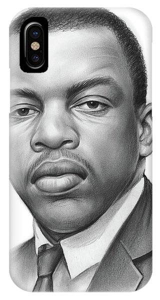 Rights iPhone Case - John Lewis by Greg Joens