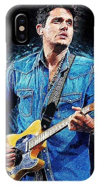 Eric Clapton iPhone Case - John Mayer by Zapista Zapista