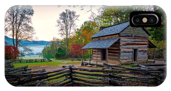 John Oliver Place In Cades Cove IPhone Case